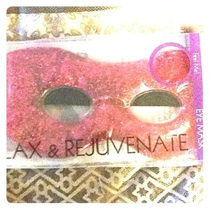 NIB! Glitter gel eye mask